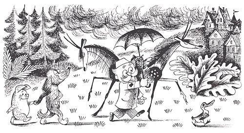 Айболит и его звери. Сказки с картинками