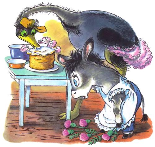 Раскраска мафин печет пироги
