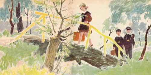 пермяк пичугин мост читать с картинками
