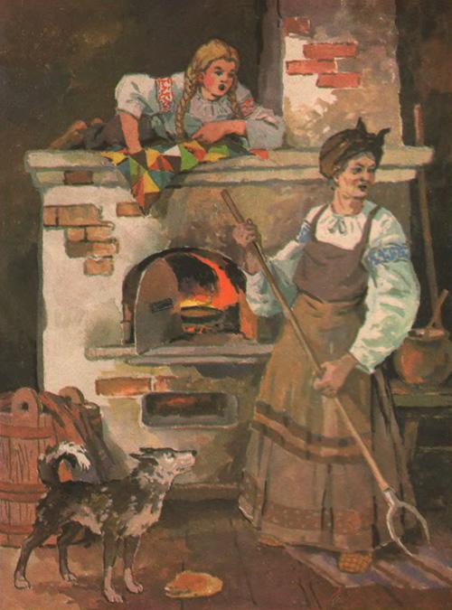 Картинки по запросу старуха в избе