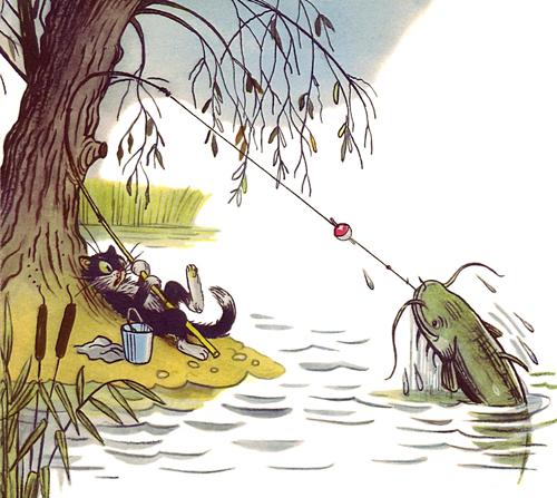 текст рыбаку который ловит рыбку